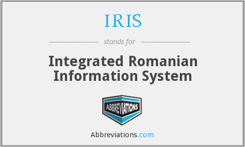 IRIS - Integrated Romanian Information System