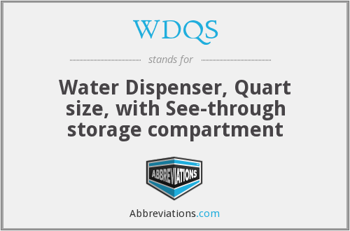 What does WDQS stand for?