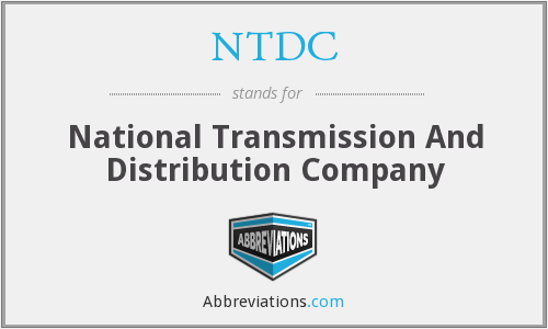 NTDC - National Transmission And Distribution Company