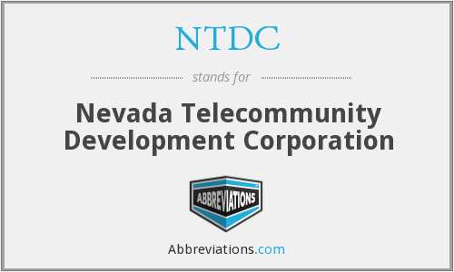 NTDC - Nevada Telecommunity Development Corporation