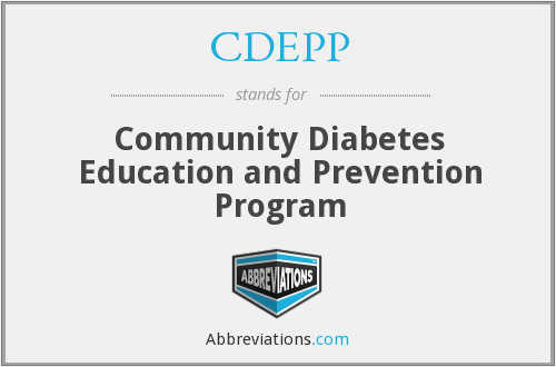 CDEPP - Community Diabetes Education and Prevention Program