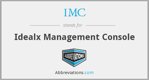 IMC - Idealx Management Console