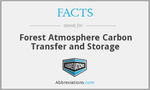 FACTS - Forest Atmosphere Carbon Transfer and Storage