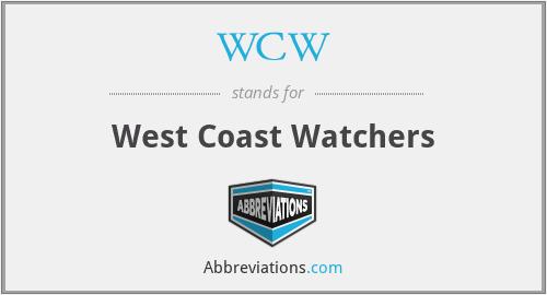 WCW - West Coast Watchers