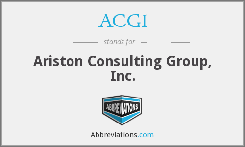 ACGI - Ariston Consulting Group, Inc.