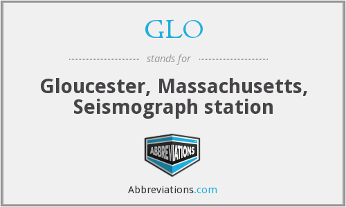 GLO - Gloucester, Massachusetts, Seismograph station