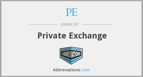 PE - Private Exchange