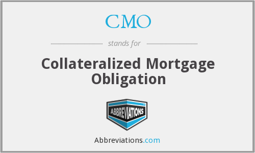 CMO - Collateralized Mortgage Obligation