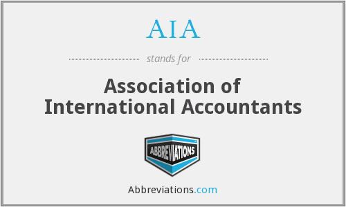 AIA - Association of International Accountants