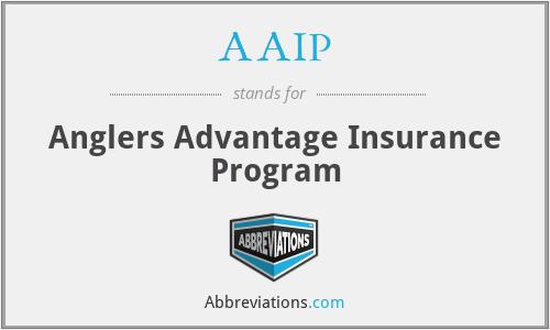 AAIP - Anglers Advantage Insurance Program