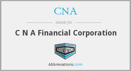 CNA - C N A Financial Corporation