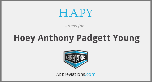 HAPY - Hoey Anthony Padgett Young