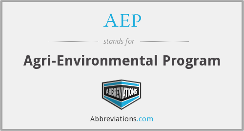 AEP - Agri-Environmental Program