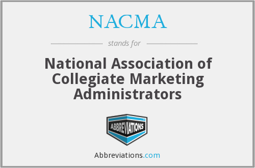 NACMA - National Association of Collegiate Marketing Administrators