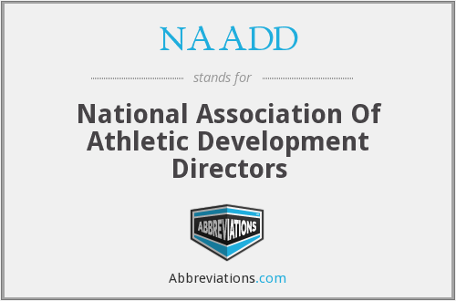 NAADD - National Association Of Athletic Development Directors