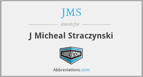 JMS - J Micheal Straczynski