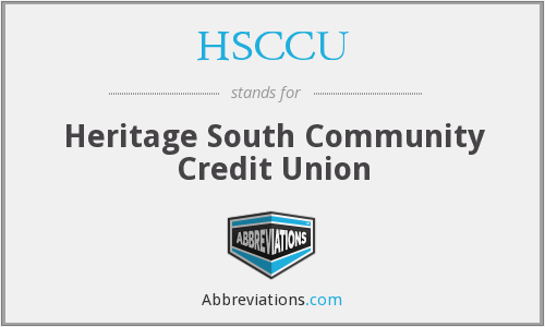 What does HSCCU stand for?
