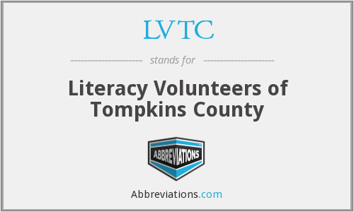 LVTC - Literacy Volunteers of Tompkins County