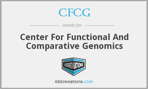 CFCG - Center For Functional And Comparative Genomics