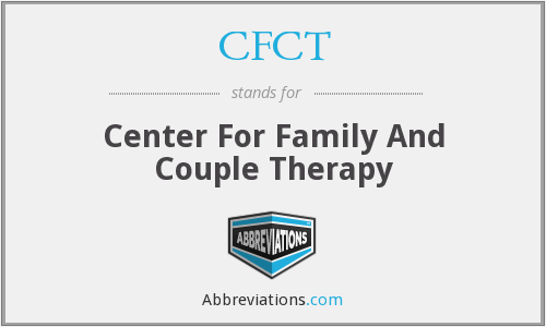 CFCT - Center For Family And Couple Therapy