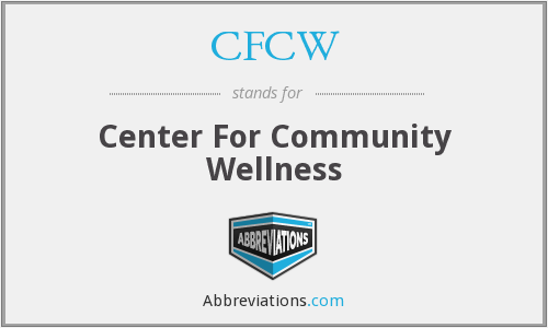 CFCW - Center For Community Wellness