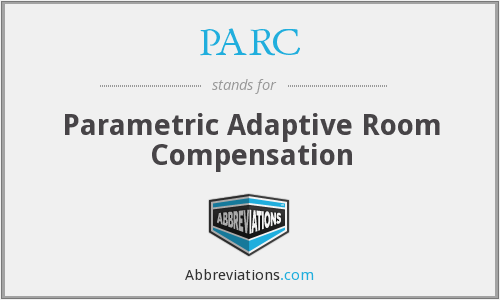 PARC - Parametric Adaptive Room Compensation