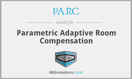 PARC - Parametric Adaptive Room Compensation