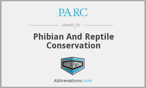 PARC - Phibian And Reptile Conservation