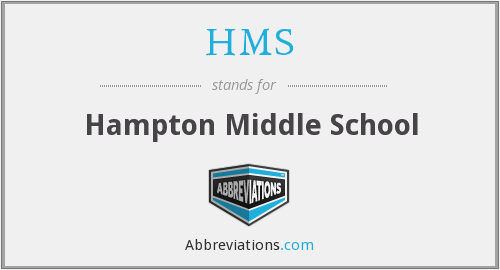 HMS - Hampton Middle School