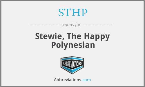 STHP - Stewie, The Happy Polynesian