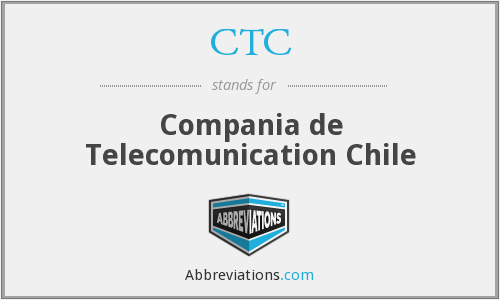 CTC - Compania de Telecomunication Chile
