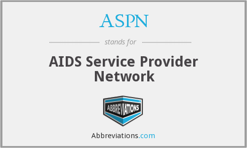 ASPN - AIDS Service Provider Network