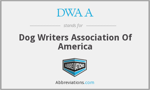 DWAA - Dog Writers Association Of America
