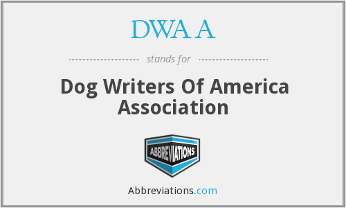 DWAA - Dog Writers Of America Association