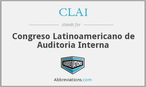 CLAI - Congreso Latinoamericano de Auditoria Interna