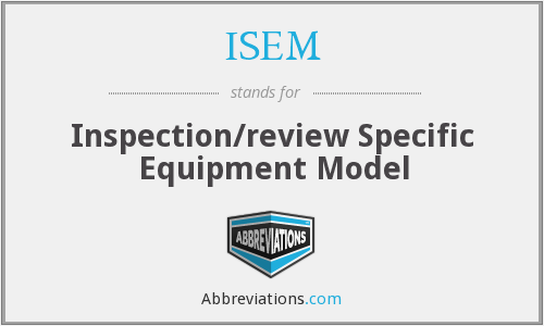What does ISEM stand for?