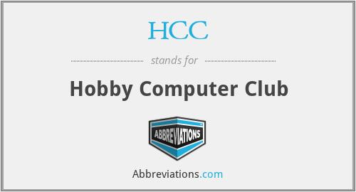 HCC - Hobby Computer Club