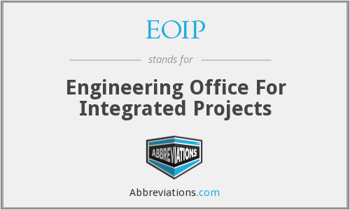 EOIP - Engineering Office For Integrated Projects