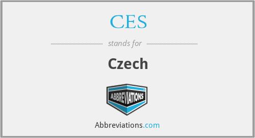 CES - Czech