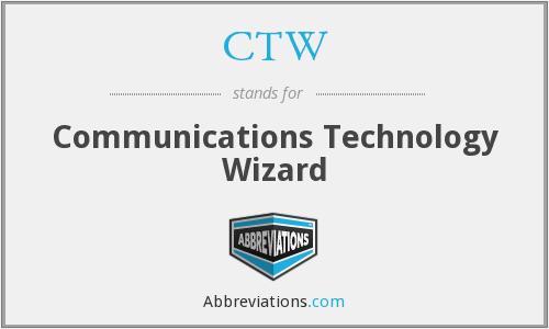 CTW - Communications Technology Wizard