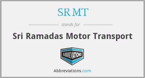 SRMT - Sri Ramadas Motor Transport