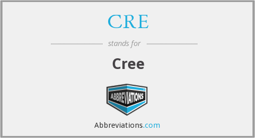 What does cree stand for?
