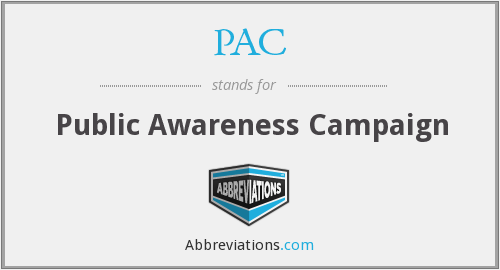 PAC - Public Awareness Campaign