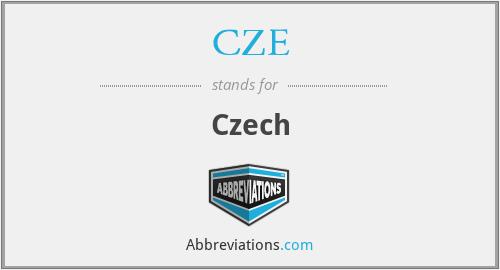 CZE - Czech