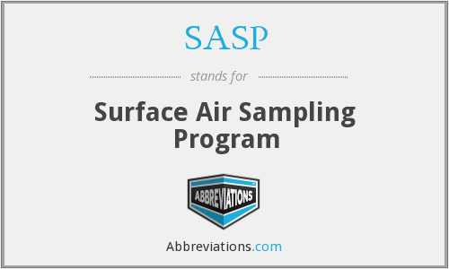SASP - Surface Air Sampling Program
