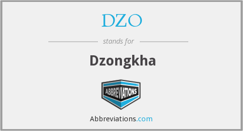 What does DZO stand for?