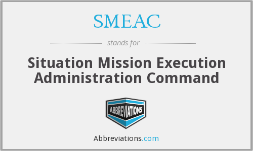 What does SMEAC stand for?