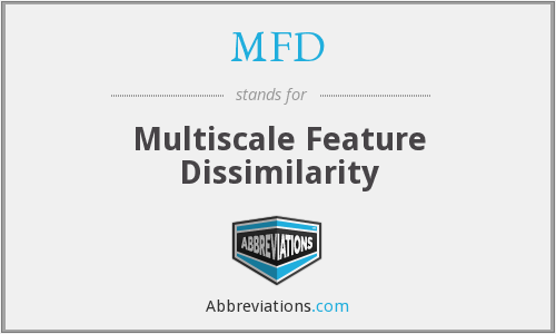 MFD - Multiscale Feature Dissimilarity