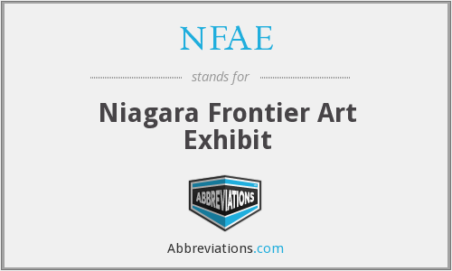 NFAE - Niagara Frontier Art Exhibit