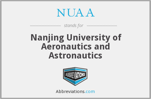 NUAA - Nanjing University of Aeronautics and Astronautics